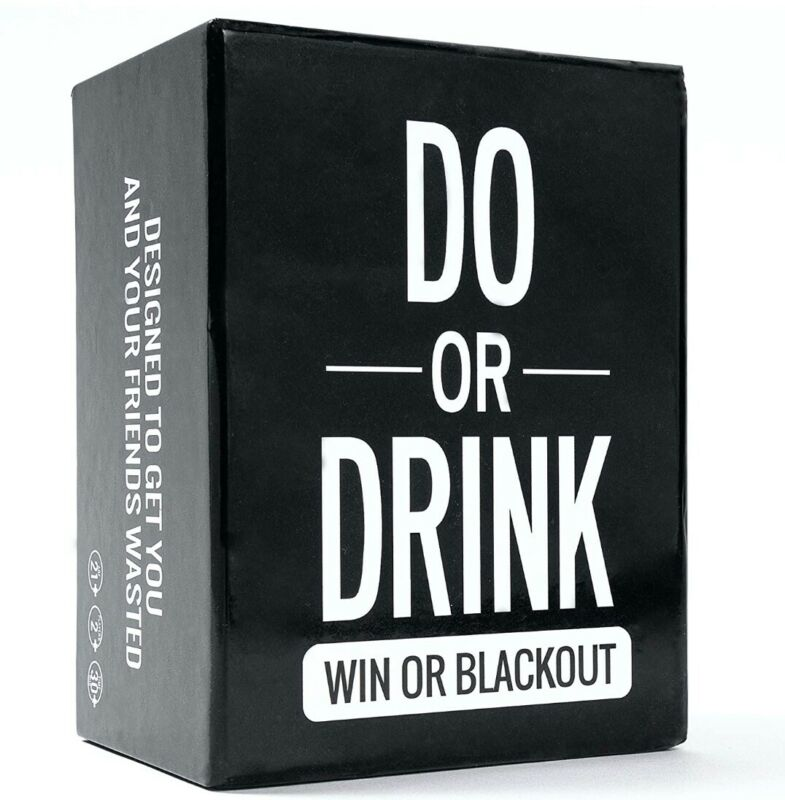 Do Or Drink Party Card Game College Camping Birthday Parties Funny