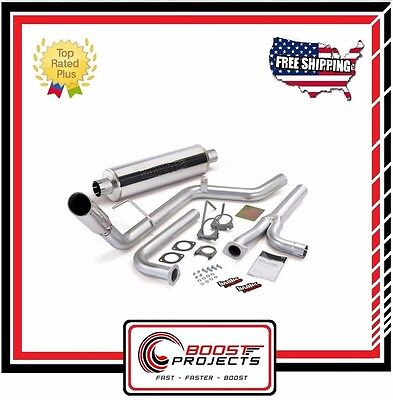 Banks Power Monster Exhaust System fits Nissan Frontier 40L All CabBeds 05 14