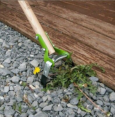Ames HOE 54 in Wood Handle Action Garden Quick Weed Remover Gardening Tool NEW