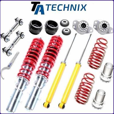TA-TECHNIX GEWINDEFAHRWERK +KOPPELSTANGEN +DOMLAGER > VW GOLF 4 /BORA /AUDI A3