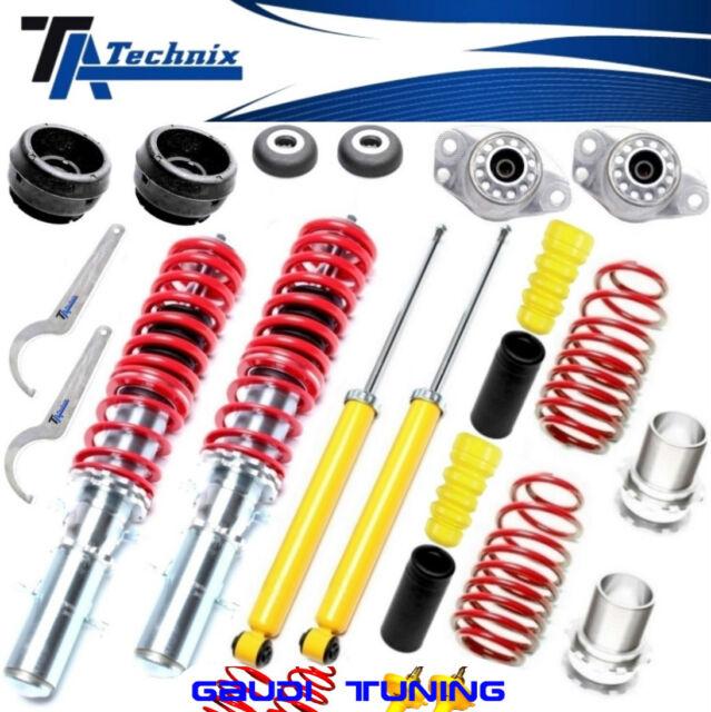 TA-TECHNIX COILOVER +4 STRUT BEARINGS +PROTECTION KIT >VW GOLF 4 /BORA /AUDI A3