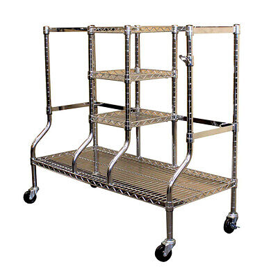SafeRacks Heavy Duty Wire Shelf Golf Bag Equipment Organizer Garage Storage Rack Heavy Bag Racks