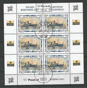 Osterreich-2007-Tag-der-Briefmarke-Kleinbogenersttag