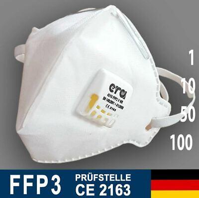 FFP3 Maske Mundschutz mit Ventil Schutzmasken von ERA ✔️CE Zertifiziert online kaufen