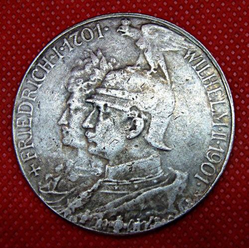 DEUTSCHES REICH, 5 MARK, CORONATION COIN 1901  (FANTASY COIN)