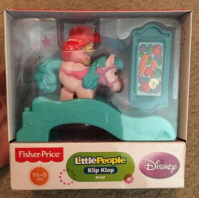 Disney Fisher-Price Little People Klip Klop Ariel