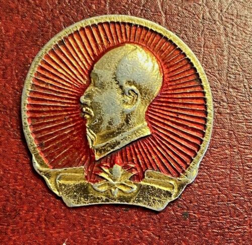 Vietnam Ho Chi Minh Communist Politician Revolutioner pin badge lapel