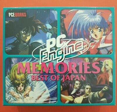 Pce Works Repro Memories Boxset: Best of Japan Pc Engine turbo duo Pc Engine Best