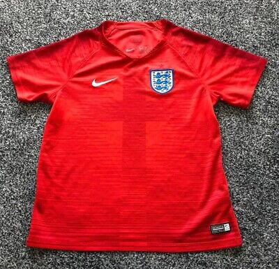 England 2018  Nike Away Football Shirt Jersey - Kids Size 6-7 Years