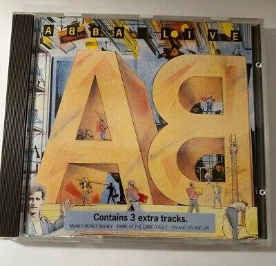 ABBA Live CD Produced by Arcade 1986 RARE