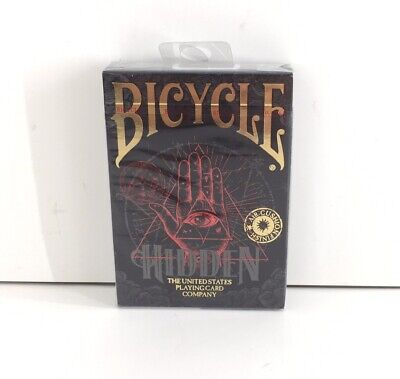 Bicycle Hidden Playing Cards Poker Size Deck Limited Edition Sealed New