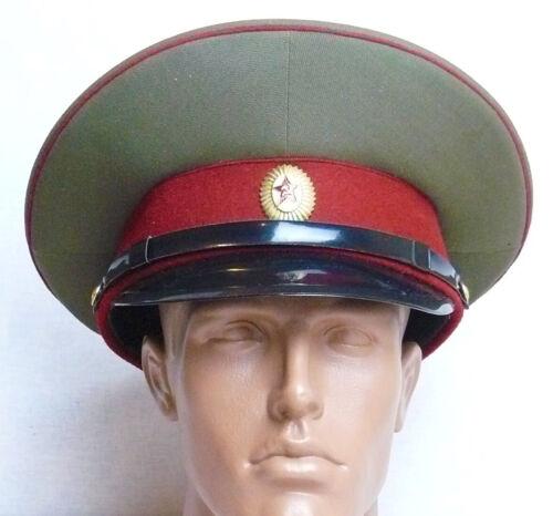 Russian Soviet Officer Hat Visor Parade Cap Badge Military Uniform L Size 58