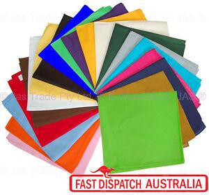 Bandana-Bandanna-Headwrap-Head-Wrap-Team-Building-Du-rag-Durag-PLAIN-Many-color