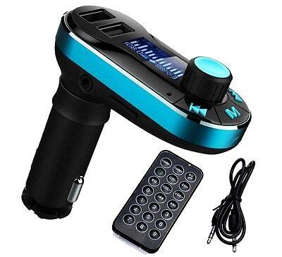 LCD Bluetooth Car Auto Dual USB Ladegeräte & MP3 Player & FM Transmitter & SD