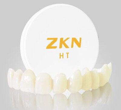Dental Zirconia Blockdisc D98mm Milling System High Translucency High Strength