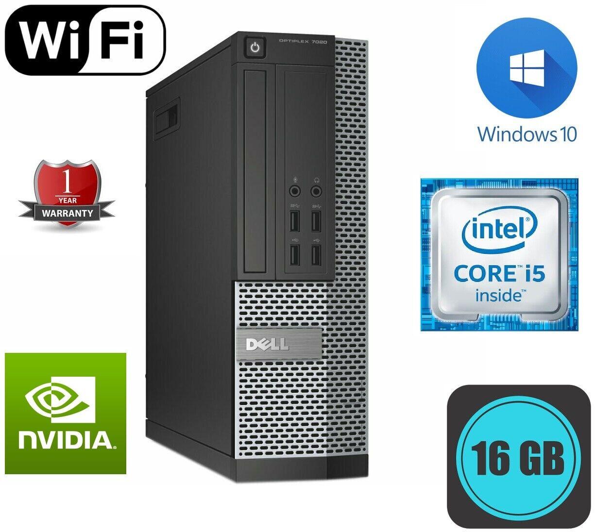 Computer Games - DELL Optiplex 7020 9020 3020 Core i5 4th Gen 1TB 8GB DESKTOP COMPUTER WINDOWS 10