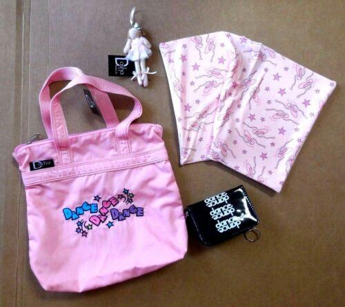NWT Gift Set Pink Dasha Dance Bag Wallet Book Cover Ballerina Ornament Ballet