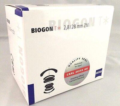 New Carl Zeiss BIOGON T * 28mm f2.8 ZM (Leica) Lens - Black - Cosina