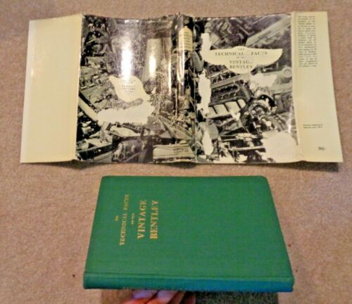 1956 HC BOOK TECHNICAL FACTS OF THE VINTAGE BENTLEY BRITISH CAR DRIVERS CLUB PUB