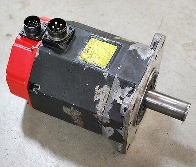 Fanuc A06b-0143-b077 Ac Servo Motor. A123000 Rpm-3000 - Used