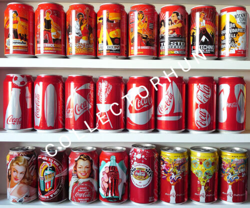 Coca Cola can collection ( total 24 different cans )    2$ / can