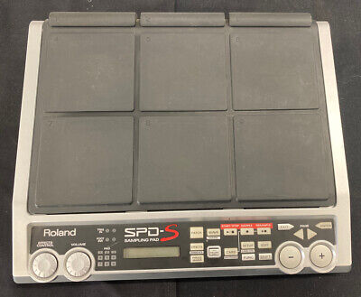 Roland sampling pad SPD-S, 9 Zone Drum Pad with bottom Accessory Free Ship