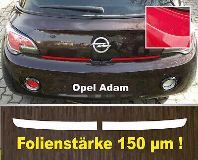 Lackschutzfolie Ladekantenschutz transparent Opel Adam ab 2012  150 µm