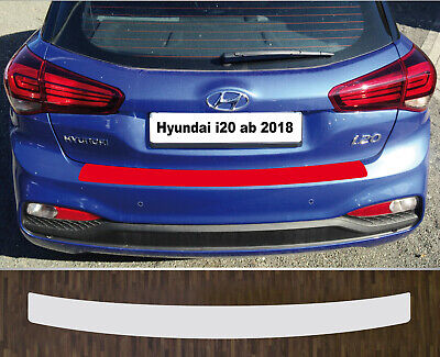 Lackschutzfolie Ladekantenschutz transparent passgenau für Hyundai i20 ab 2018