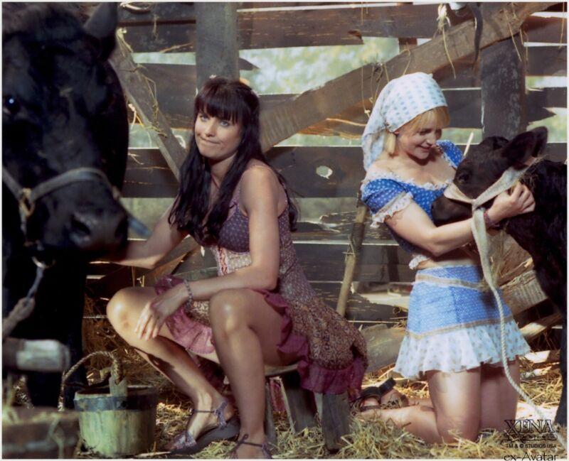 Xena Warrior Princess Old Ares Had A Farm  8x10 Photo Print