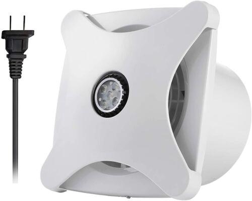 Bathroom Ceiling Ventilation Fan With Light Air Vent Exhaust Toilet Bath 116 CFM