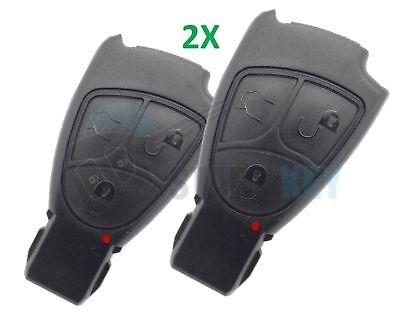 2X Mercedes Schlüssel Ersatz Gehäuse W203 W211 W210 W209 W169 W245 R171 W215 221