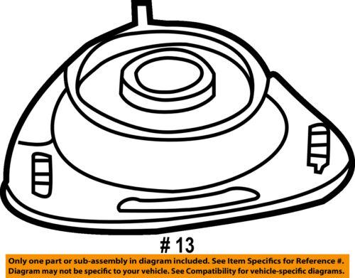 subaru oem 08 15 impreza front suspension strut mount 20320fg012 ebay Subaru GT seller payment information