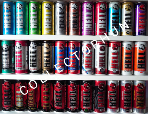 Big Hell Energy Drink Can Collection            3$ / can