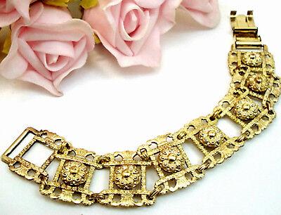 Vintage Fine Fashion Jewelry 12 kt GF Gold Filled BB Bracelet Gold Filled
