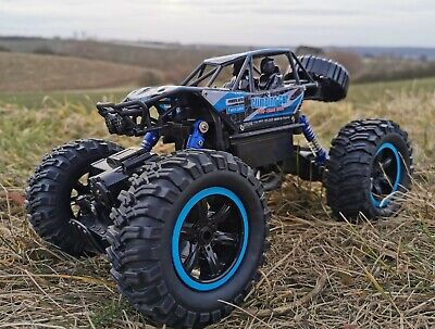 RC Rock Crawler X-FIGHTER Allrad 2,4 Ghz. Ferngesteuertes Auto Monster Truck