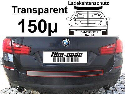 Lackschutzfolie Ladekantenschutz 5er  BMW F11 Kombi Touring  transparent 150µ