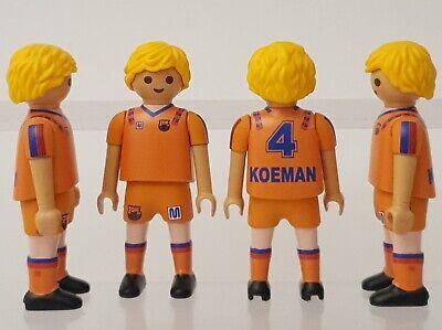 Custom Playmobil Koeman F.C. Barcelona Barça europa fútbol copa europa defensa