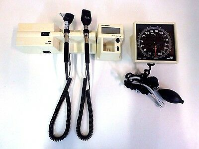 Welch Allyn 767 Transformer Otoscope Ophthalmoscope W 2 Heads Thermometer