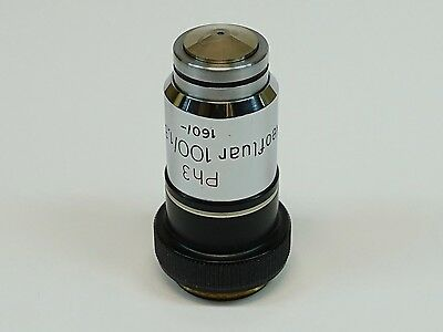 Zeiss Neofluar 100x1.30 160- Ph3 Oil Microscope Objective