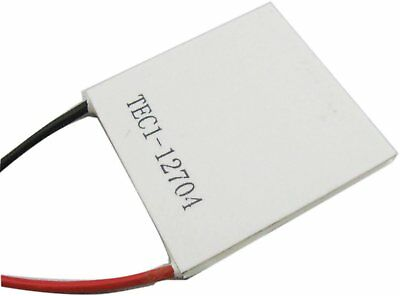 Tec1-12704 40x40mm Thermoelectric Cooler Peltier Plate Module 15v Cpu