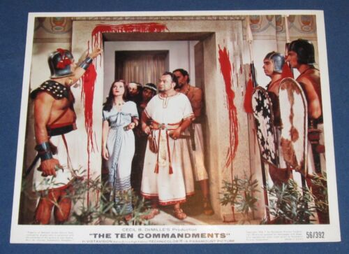 8x10 Print The Ten Commandments 1956 Charleton Heston #9830CH