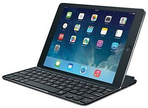 Apple iPad air 2 with belkin keyboard case