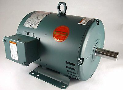 3hp 3ph 1765rpm 182t 208-230460v 1-18 Shaft Odp Leeson Electric Motor 131519