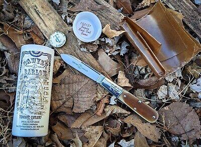 Great Eastern Cutlery TC Barlow #152121 Sepia Sawcut Bone SFO NIT