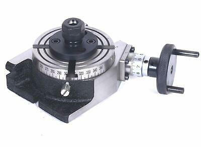 4 Inches 100 Mm Rotary Table With Er-20 Collet Adapter