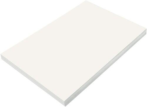 "SunWorks Construction Paper, White, 12"" x 18"", 100 Sheets"