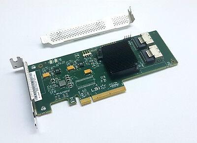 SATA HBA LSI Megaraid 9201-8i 6G PCIe x8 Gebraucht IT Mode ZFS FreeNAS 6Gbps