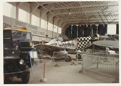 Colour print of USAF P51D Mustang 44-72258 at Duxford in 1982