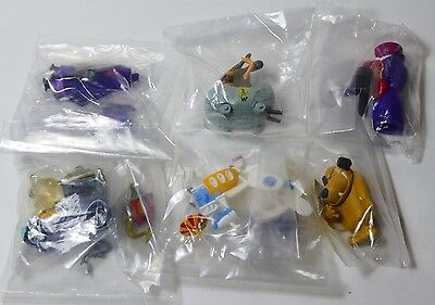 Bandai HG Gashapon Wacky Races All six figures BNIB from Japan.