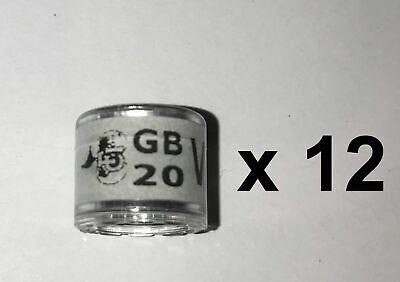 RPRA racing pigeons rings GB 2020 - packet of 12 - UK original + transfer form